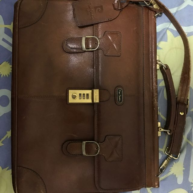 Piere Cardin Leather Bag
