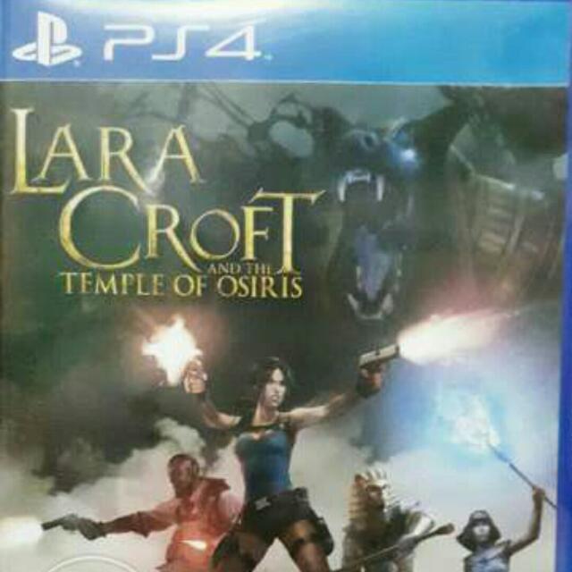 Ps4 Lara Croft Temple Of Osiris