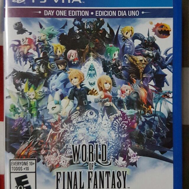 Ps Vita - World of Final Fantasy