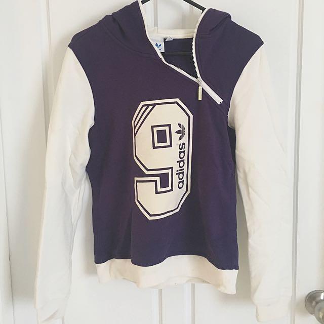 Purple Adidas Hoodie Size 36