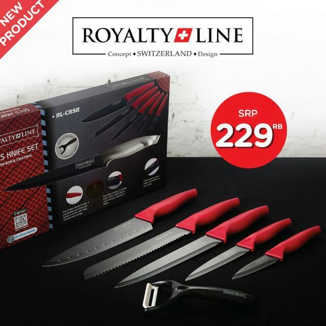 Royalty Line 5pcs Knife