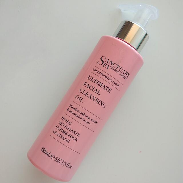 Sanctuary Spa Facial Cleansing Oil