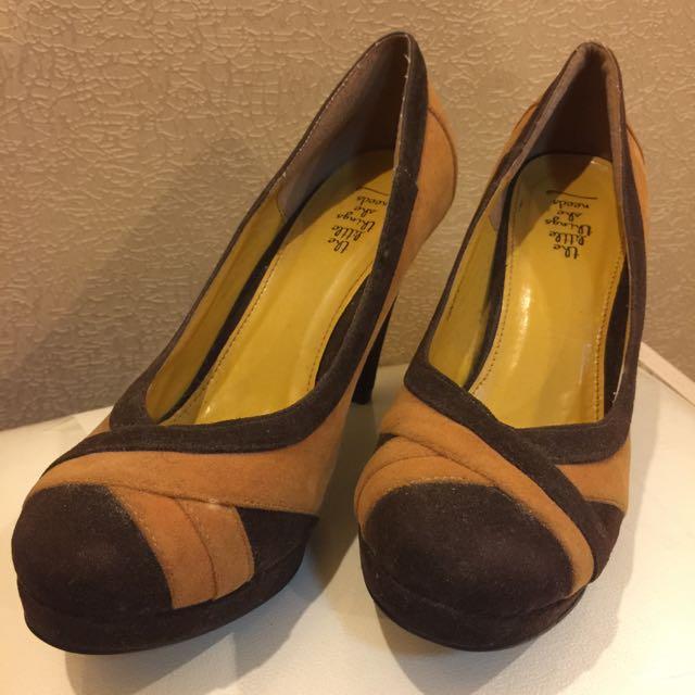 Sepatu Heels Suede The Little Things She Needs