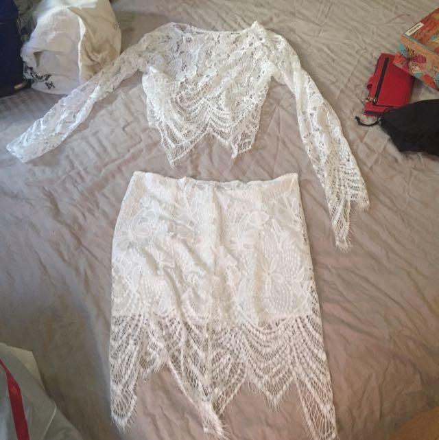 Set- Top/skirt