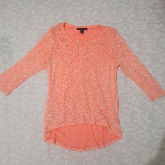 Shocking Pink Sweater