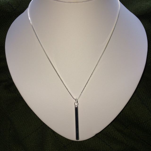 Silver Earring & Necklace Set