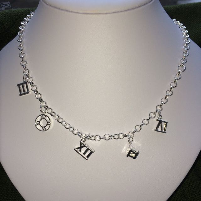 Silver Necklace/Bracelet/Earring Set