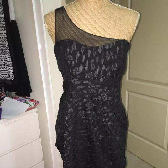 Size 12 (UK) Amazing Off The Shoulder Cocktail Dress