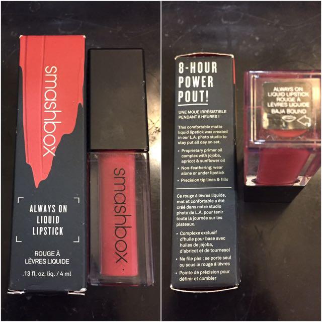 SMASHBOX Always On Liquid Lipstick (Baja Bound)