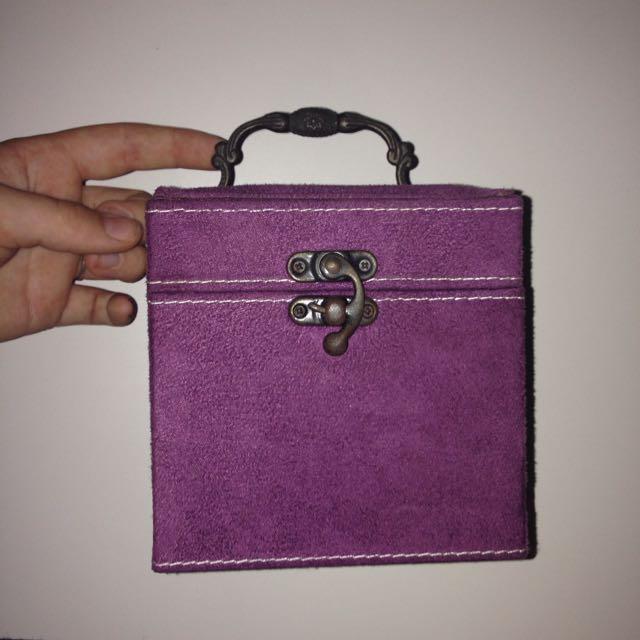 Soft Purple Jewellery Organiser
