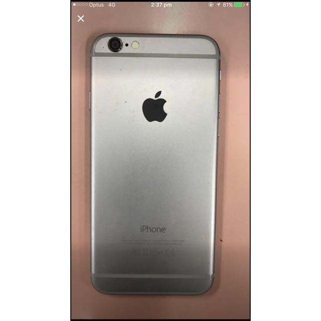Space Grey IPhone6S 16GB