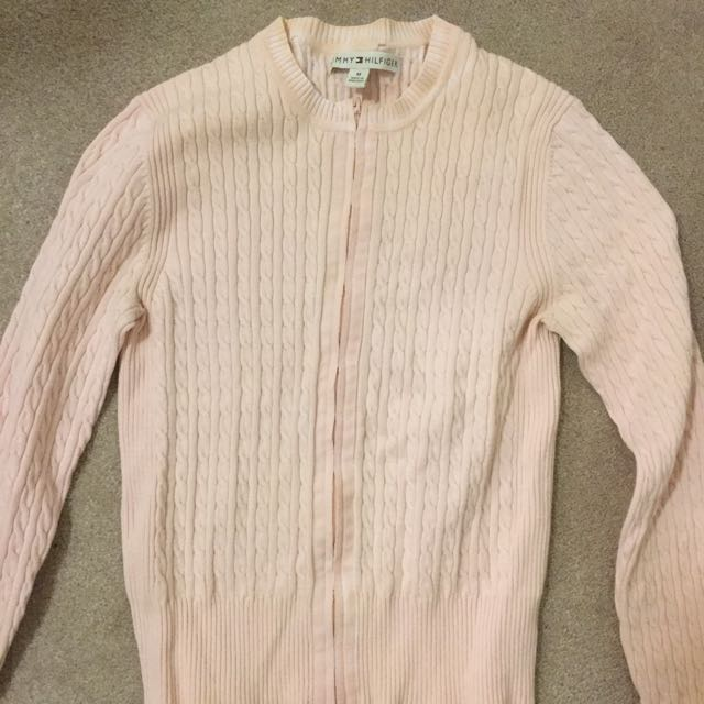 TOMMY HILFIGER | Pink Cardigan S/M