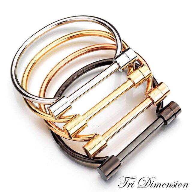 Tri Dimension Limited Edition Cuff