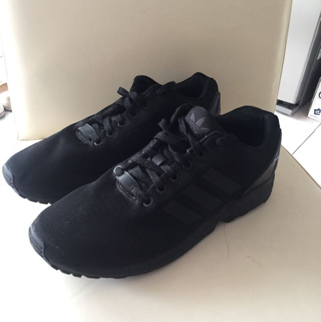 Triple Black ZX Flux