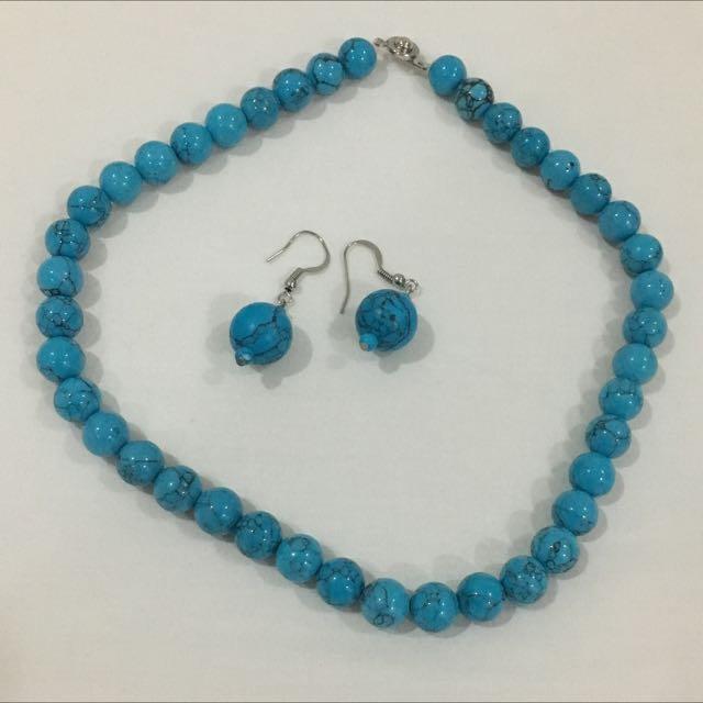Turquoise Beads Set