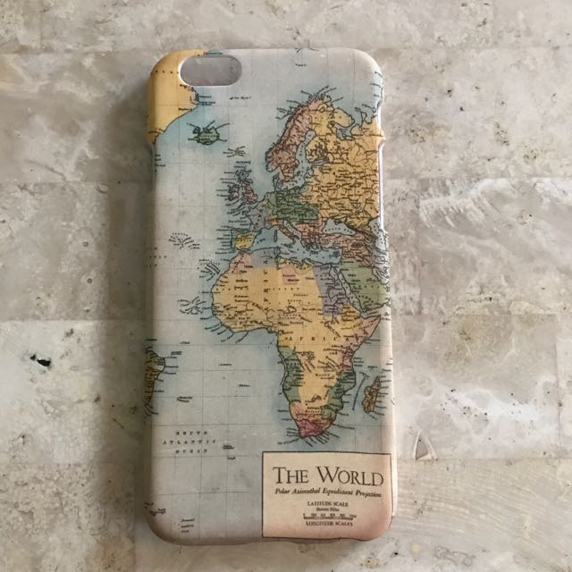 Typo iphone 66s world map cover mobile phones tablets mobile typo iphone 66s world map cover mobile phones tablets mobile tablet accessories on carousell gumiabroncs Choice Image
