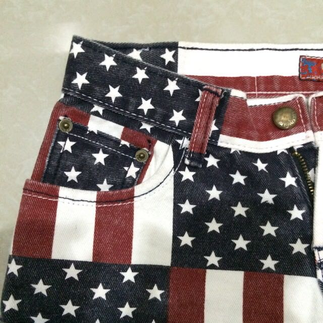 USA Flag Shorts