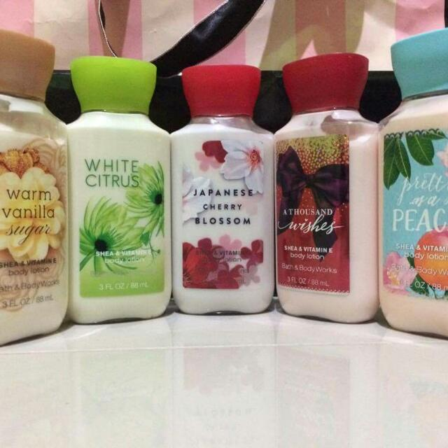 Victoria's Secret & Bath & Body products