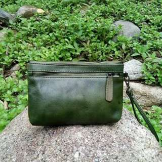 Clutch 100% Leather