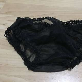 Vintage Black Bloomers