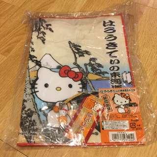 Hello Kitty Towel & Champ Set