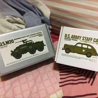 (BUNDLE) Tamiya 1:48 US Army WWII Vehicles