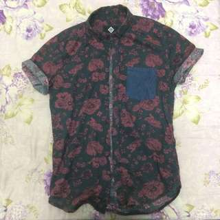 Floral Cotton On Shirt