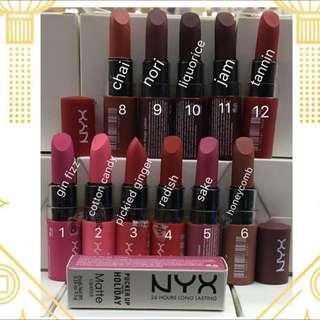 Nyx Pucker Up Matte Lipstick
