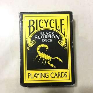 Bicycle Black Scorpion Deck