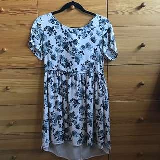 Forever 21 Floral Dress Size Large