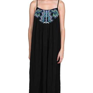 Black Maxi Dress Size Sm/md