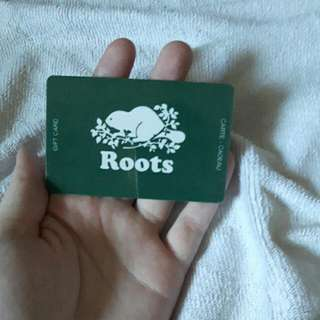 Roots 50$ Gift Card