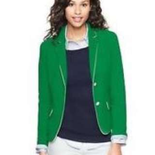 Gap Green Blazer Size 6