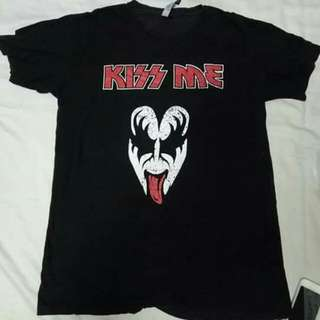 Kiss bootleg band Tshirt