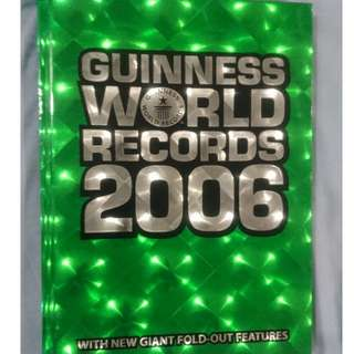 [USED] Guinness World Records 2006 (Guinness Book of Records)