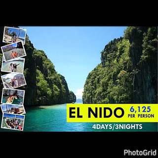 4Days/3Nights El Nido With Airfare ALL IN Package