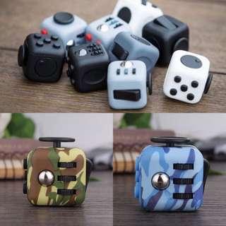 New Fidget Cubes - Many Colours