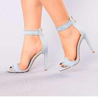 Tick Tack Ban Heels From Fashion Nova