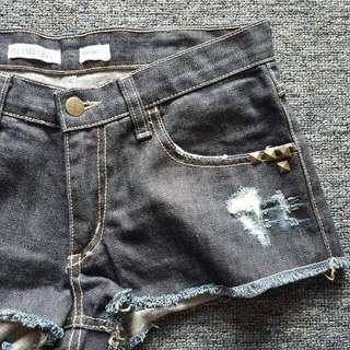 WRANGLER Relaxed Cheeky Denim Shorts Size 8 BNWOT