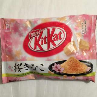 kitkat黃豆粉餅乾