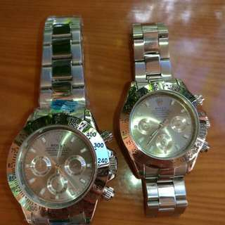 Rolex Automatic Couple watch