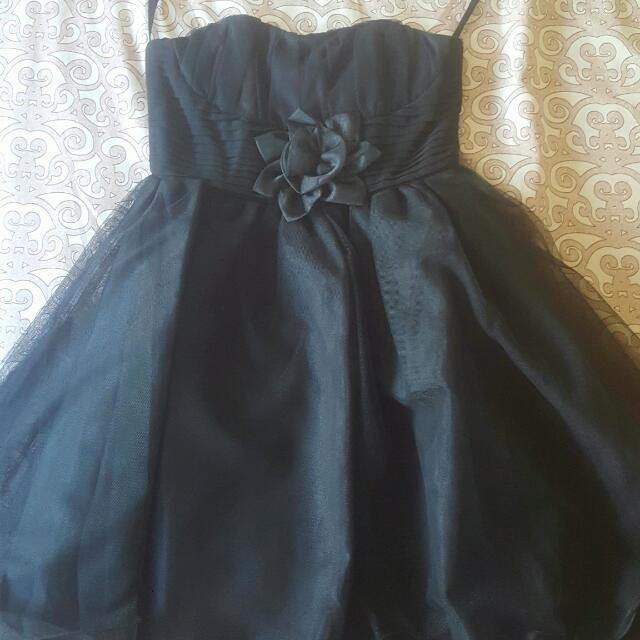 Black Mini Cocktail Dress