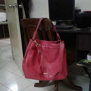 MARKDOWN..Authentic Fully Leather Sembonia