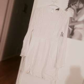 Forever 21 Modest White Dress