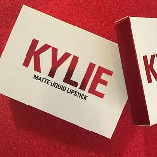Kylie Cosmetics Limited Edition Mini Mattes Valentines Day Collection
