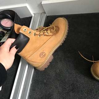 """Worn Once Like new Size 6W Timberlands REDUCED"""""""