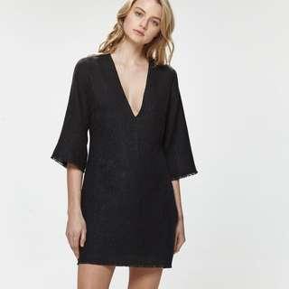 Hansen & Gretel Black Dress Size 3/12
