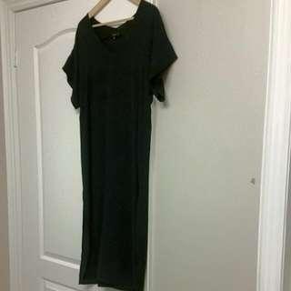 Aritzia Babaton Jessie Navy Blue Dress