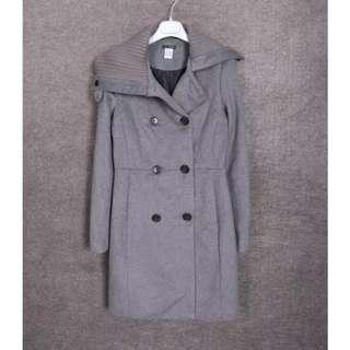 灰色全新大衣外套(限時特價)