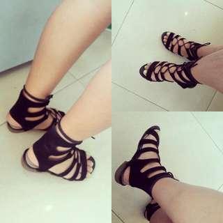 Preloved Gladiator Flat Sandal